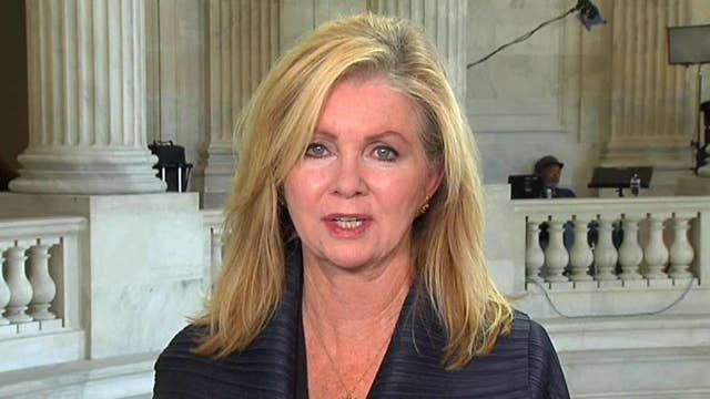 Sen. Marsha Blackburn blasts 'unconstructive' Democratic opposition to GOP gun control proposals