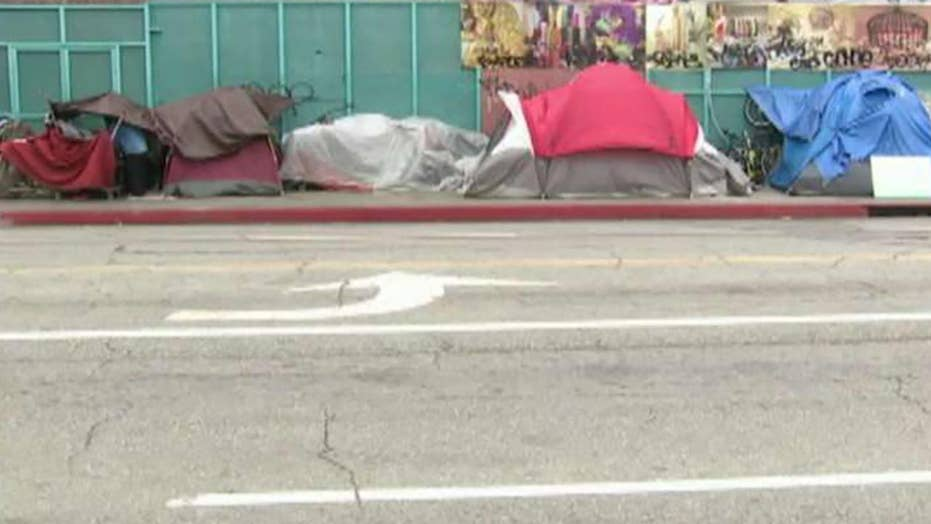 Team of Trump administration officials sent to California for homelessness fact-finding mission