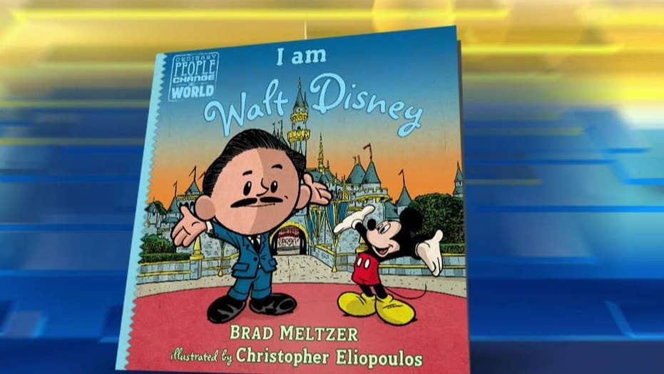 Walt Disney's inspiring story told in new children's book