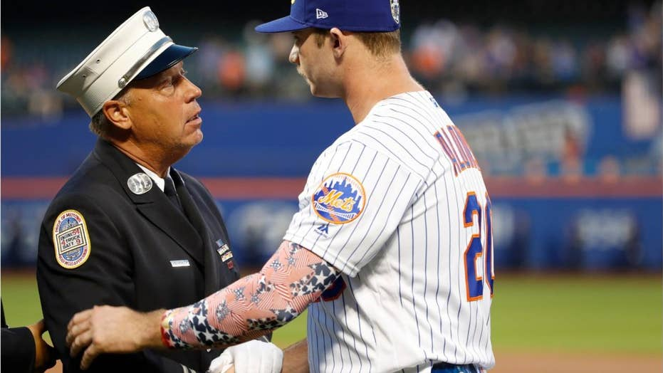 New York Mets' Pete Alonso skirts MLB to provide teammates with custom 9/11 cleats