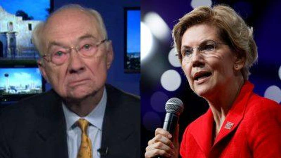 Former Texas Sen. Phil Gramm slams Elizabeth Warren's social security plan