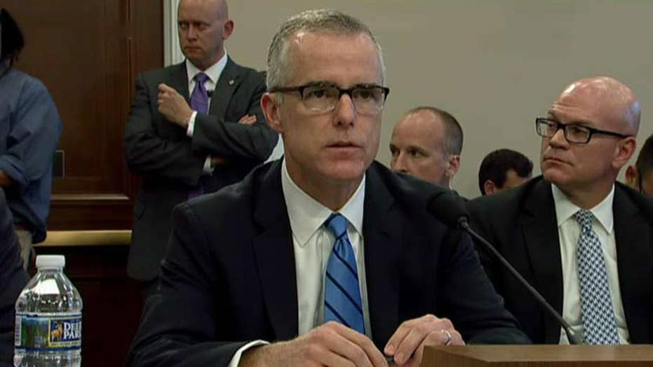 US attorney recommends bringing charges against Andrew McCabe, DOJ rejects last-ditch appeal