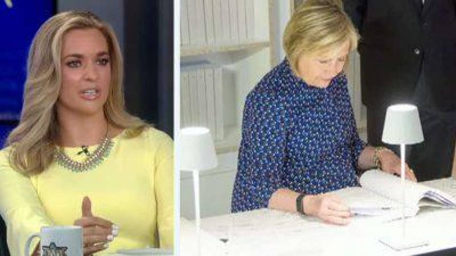 The Five reacts to Hillary Clinton's trip to Italian 'Clinton email' art exhibit