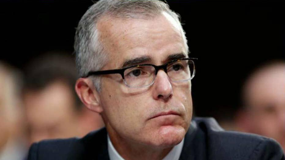 Andrew McCabe irks some CNN colleagues: 'I have no