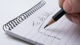 Looking for ways to deal with stress? Try list-making