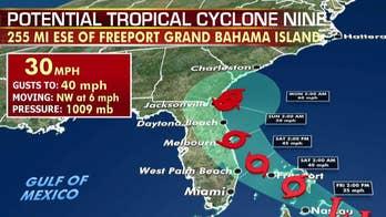 National forecast for Friday, September 13