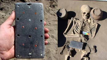 Archaeological dig in 'Russian Atlantis' reveals 2,100-year-old 'iPhone case'