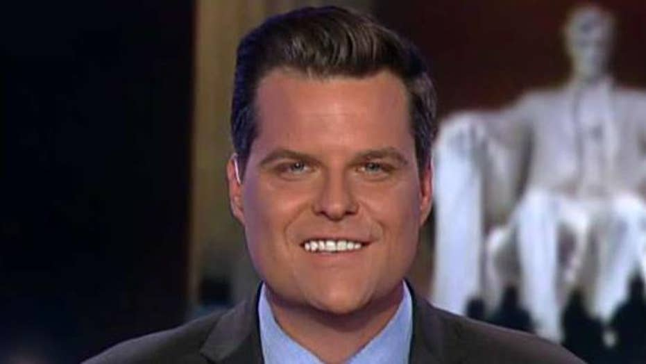 Gaetz: There should be consequences for Congress members who stand between Americans and their 2nd Amendment rights