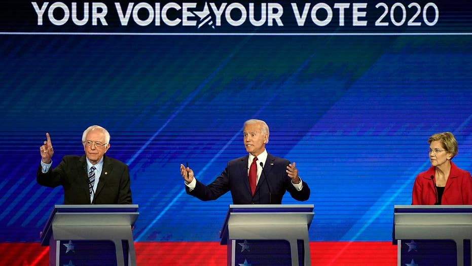 Biden demanding answers on how Sanders, Warren plan on paying for 'Medicare for All' plans