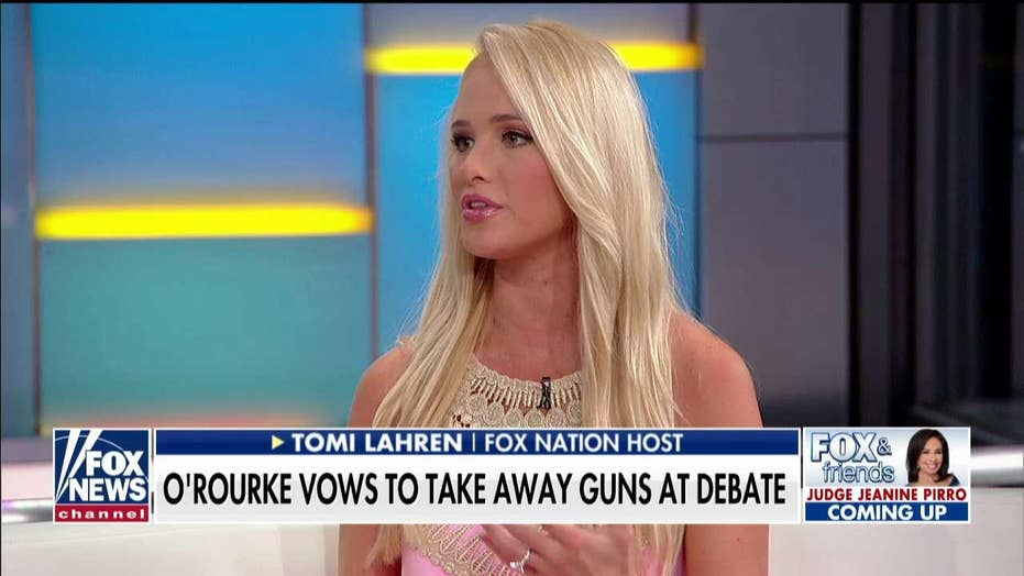 Tomi Lahren on Beto O'Rourke's vow to take away guns: 'Finally they're being transparent'