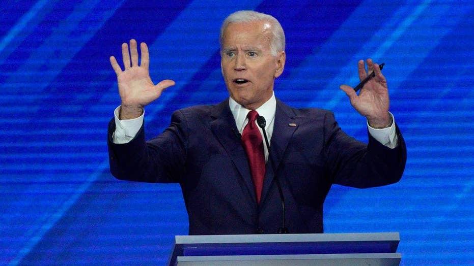 Joe Biden takes hits from other 2020 Democratic hopefuls at third debate