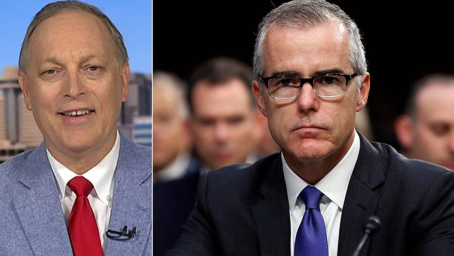 Rep. Andy Biggs says charges against Andrew McCabe are warranted and due