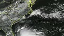 Humberto becomes a hurricane