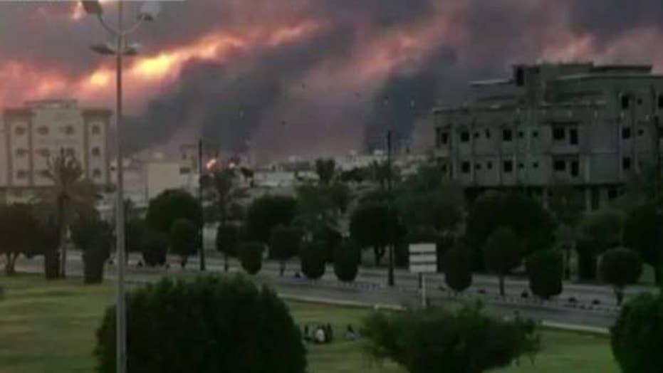 Two Saudi oil facilities hit by drone strikes, Pompeo blames Iran