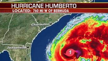 Humberto strengthens into hurricane, may bring heavy rain to Bermuda
