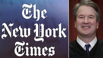 Washington Post says it passed on New York Times' now-revised Kavanaugh story
