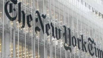 Liz Peek: New York Times emerges as radical voice of the anti-Trump mob – and there's no turning back