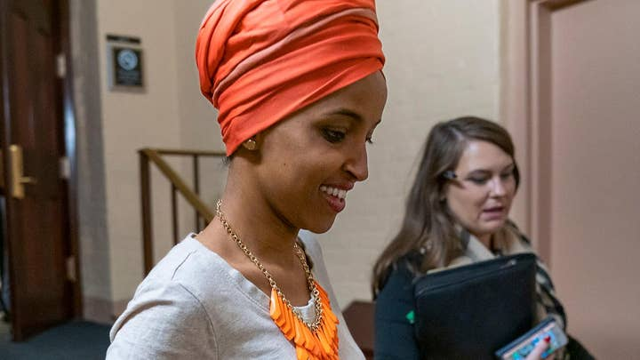 Congresswoman Omar sparking outrage with comments on 9/11 and US border agents