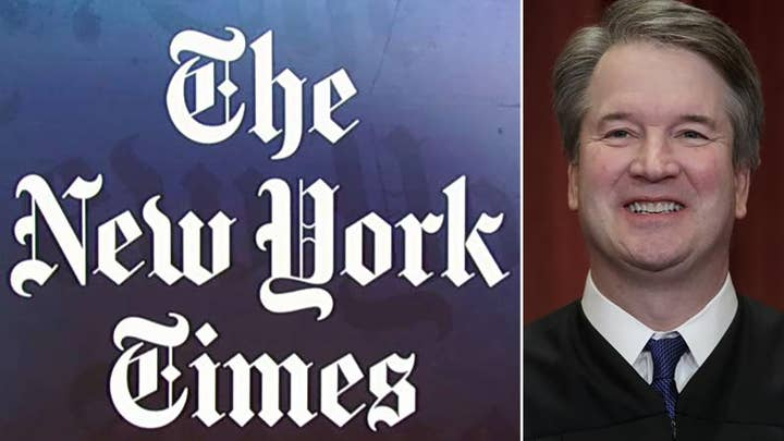 New York Times reveals alleged Kavanaugh victim doesn't remember incident