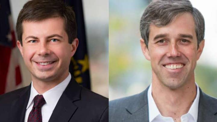 Democratic presidential candidates Buttigieg and O'Rourke clash over gun control