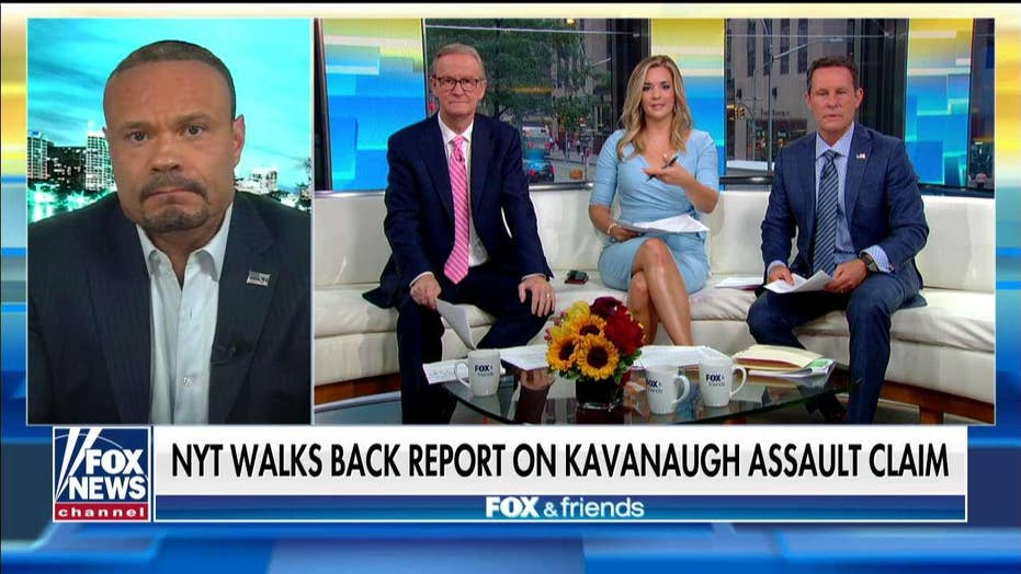 Dan Bongino blasts NYT's 'disgraceful' reporting on Kavanaugh: 'This is not a newspaper anymore'