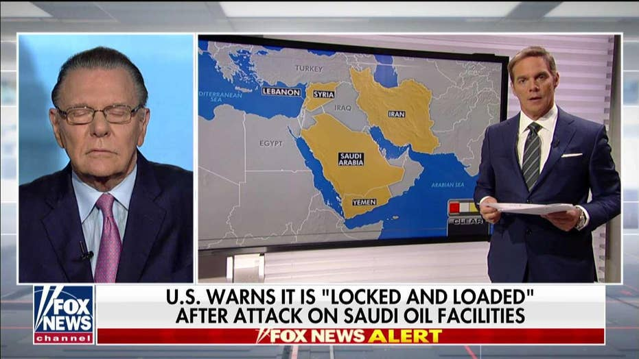Gen. Keane: US 'holding all the cards' as Iran 'exhausts playbook' to beat crippling sanctions