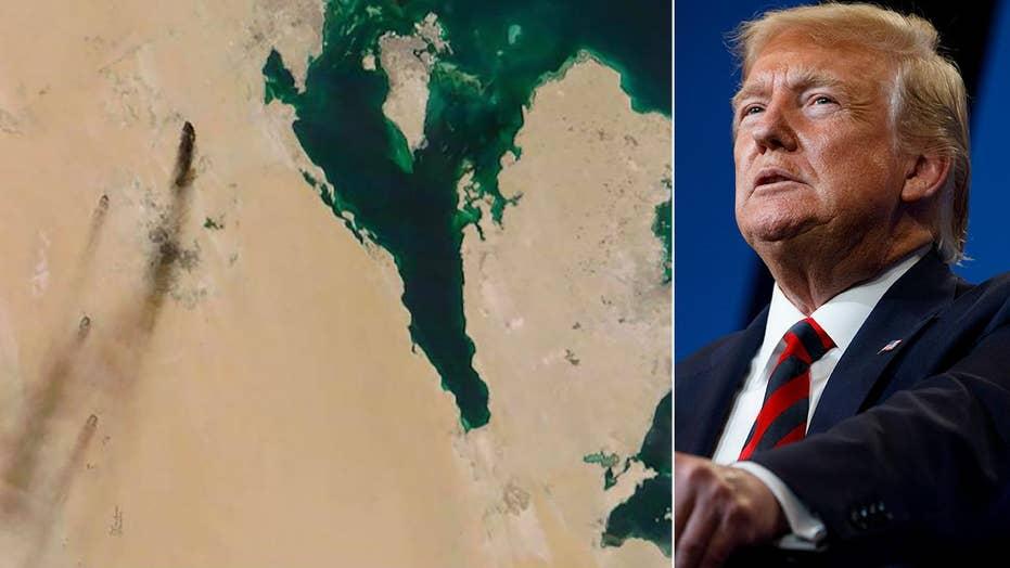 Trump: It's 'looking like' Iran was responsible for Saudi oil attacks