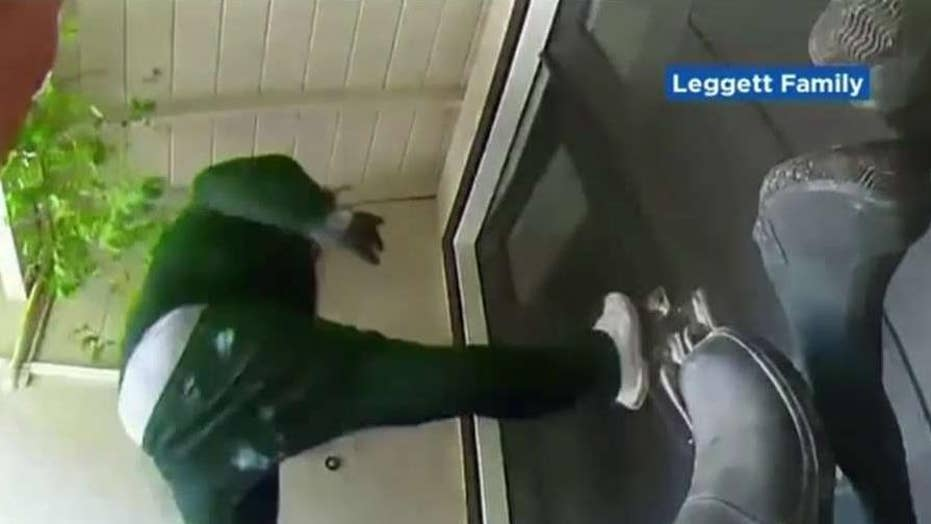 California homeowner scares off masked home invaders