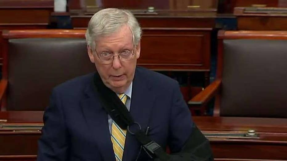 Sen. McConnell says Brett Kavanaugh's critics shoot first, correct the facts later