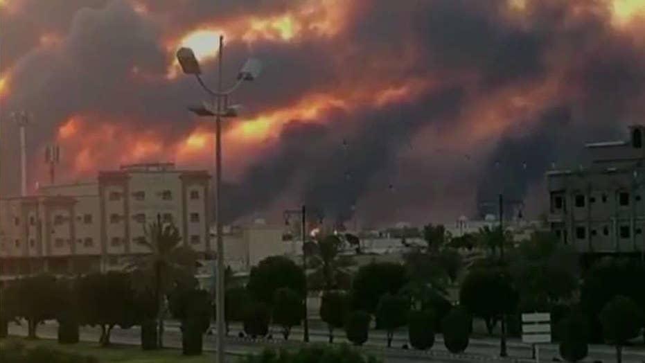 'Maximum lies': Iran denies responsibility for attack on key oil infrastructure in Saudi Arabia