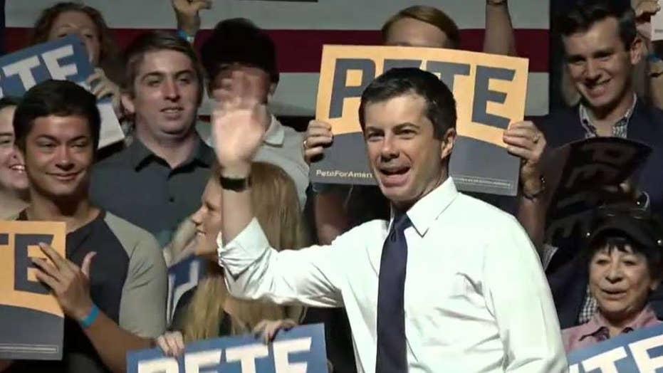 Pete Buttigieg takes issue with Beto O'Rourke as Elizabeth Warren narrows the gap with Joe Biden