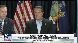New York becomes 1st state to approve ban on sale of flavored e-cigs