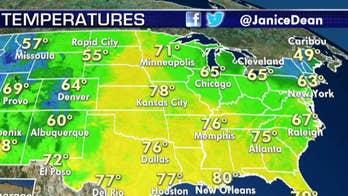 National forecast for Tuesday, September 17