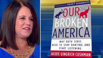 Jackie Gingrich Cushman: We have fought many wars as a country but now we are engaged in a battle for our soul