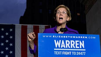 Democratic primary voters more enthusiastic about Warren than Biden: poll