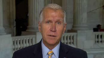 Sen. Thom Tillis blasts 'liberal media mob hit' on Justice Brett Kavanaugh