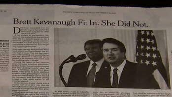 New York Times blames 'editing process' for omissions in Brett Kavanaugh story