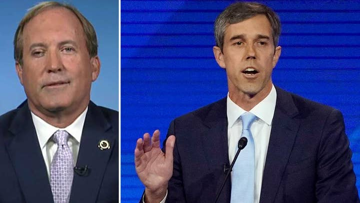 Texas AG pushes back against Beto, says most Texans don't want to give up their guns
