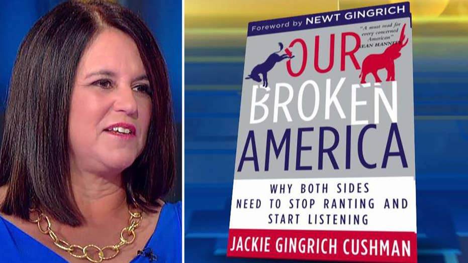Jackie Gingrich Cushman pens new book 'Our Broken America'