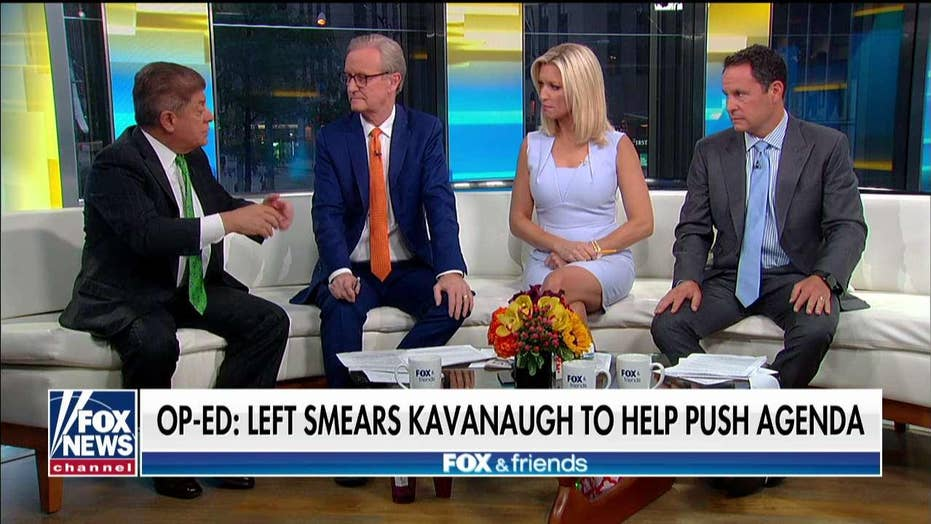 Judge Napolitano says Brett Kavanaugh 'may actually have a case' for suing New York Times
