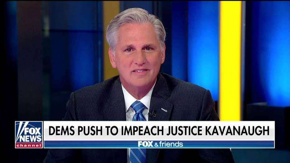 Kevin McCarthy slams House Democrats for 'imaginary impeachment' efforts against Trump