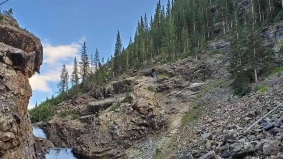Motorcyclist falls off Colorado cliff, survives