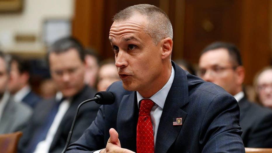 Democratic lawmakers press Corey Lewandowski over Trump request to deliver message to Sessions
