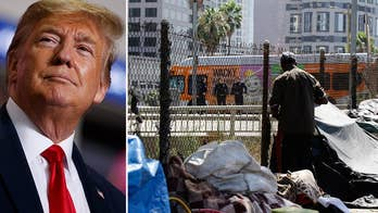 Jesse Watters says California 'wants to be its own republic' on homelessness, ignore federal laws designed to help crisis