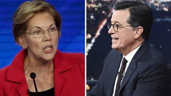 Colbert presses Sen. Warren on middle-class tax hike to fund 'Medicare-for-all'