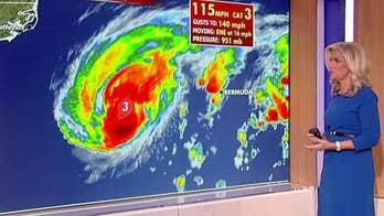 Hurricane Humberto threatens Bermuda