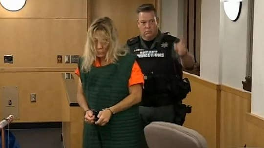 Washington State woman accused of killing husband appears in court