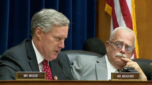 Rep. Meadows questions Michael Horowitz on 'irregularities' between Comey's congressional testimony, IG report