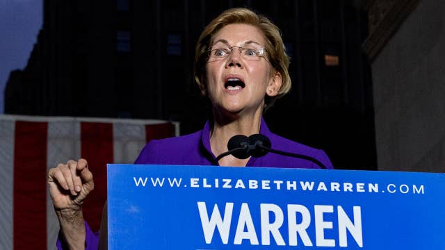 Elizabeth Warren struggles to explain how she will pay for 'Medicare for all'