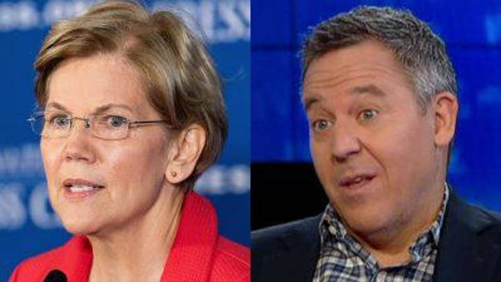 Greg Gutfeld responds to Warren's appearance on Colbert